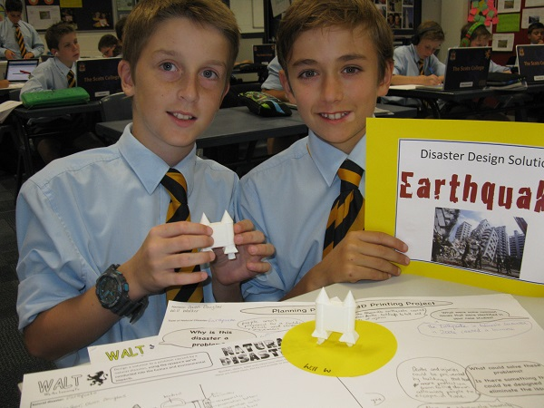Makers Empire - The Scots College - Will W & Owen 3D Printing Design - 600 x 450