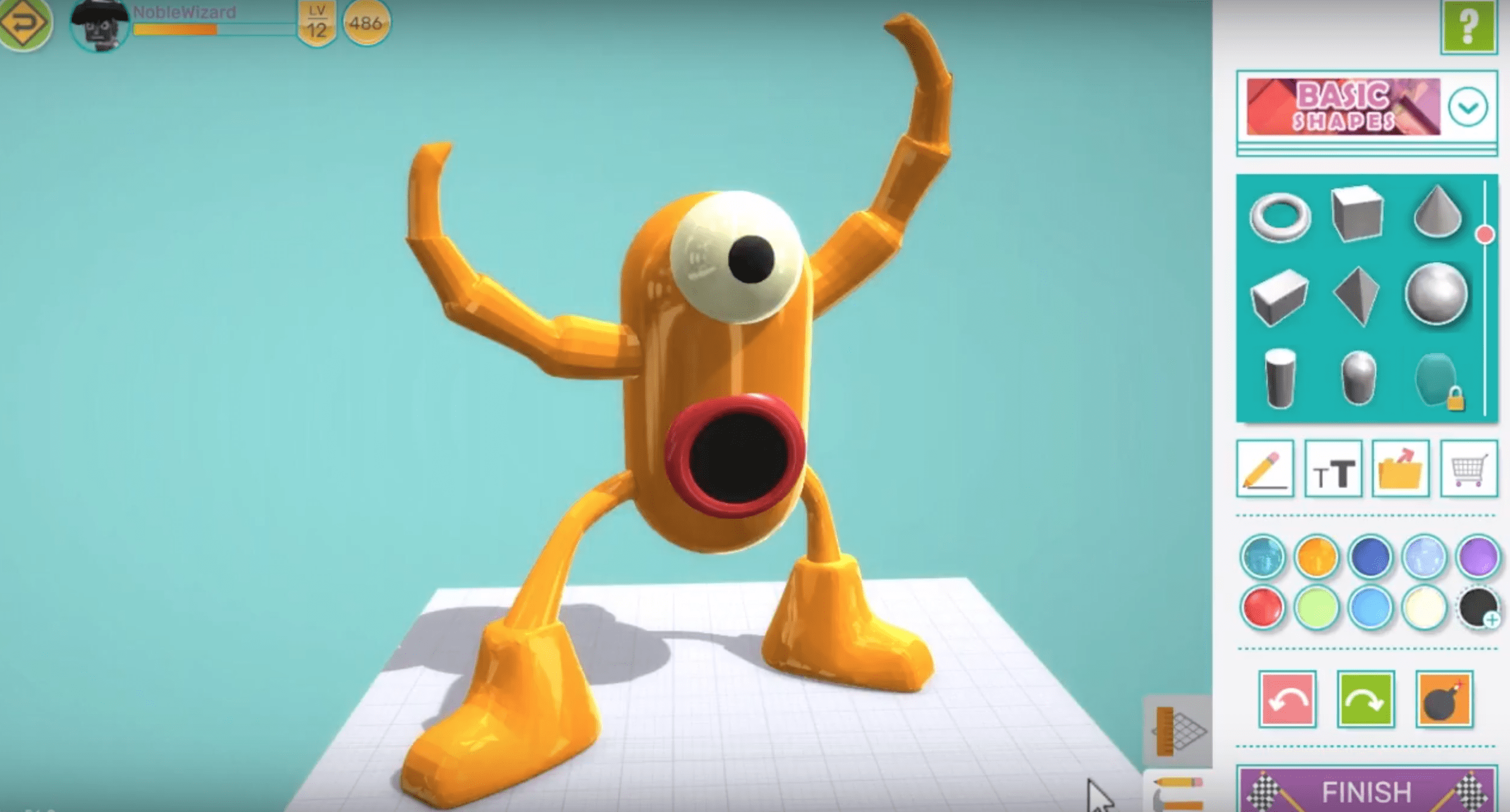 How to make a monster using Makers Empire 3D (VIDEO) |