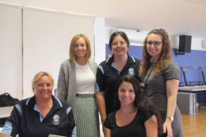 Teachers from Mary Immaculate Catholic Primary School