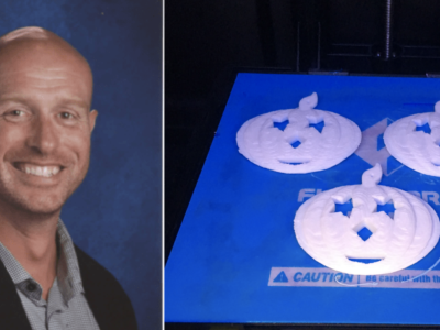 chris burdman, teacher, 3d printing tips