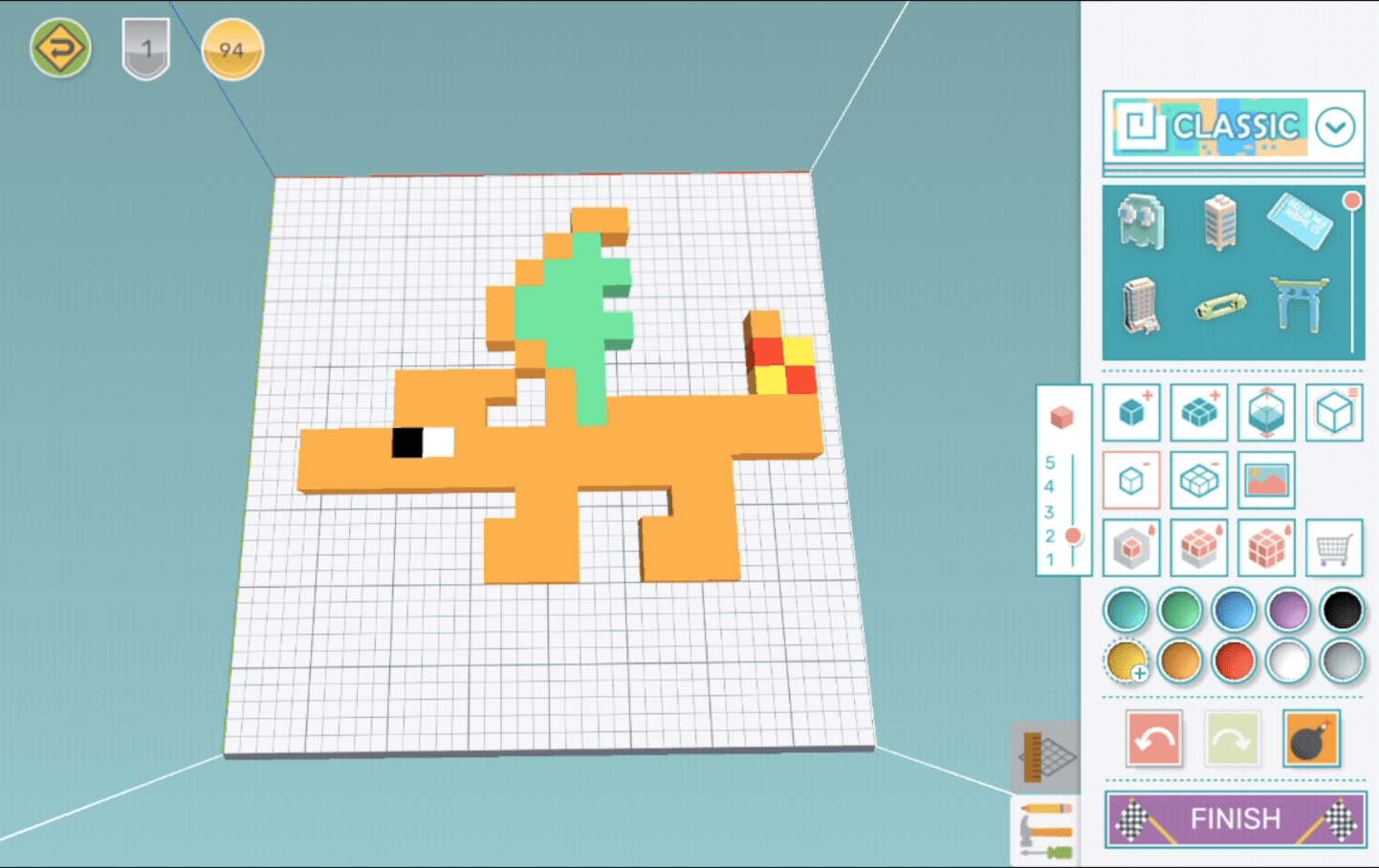 How to Design a Charizard [Pokemon] using Makers Empire 3D