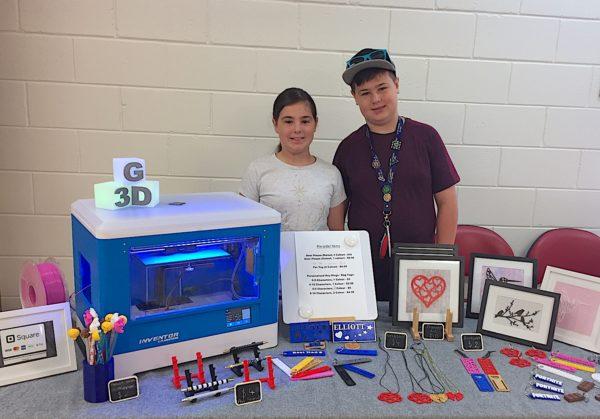 Meet the Young Siblings & Entrepreneurs Behind Custom 3D Printing Company, G3D