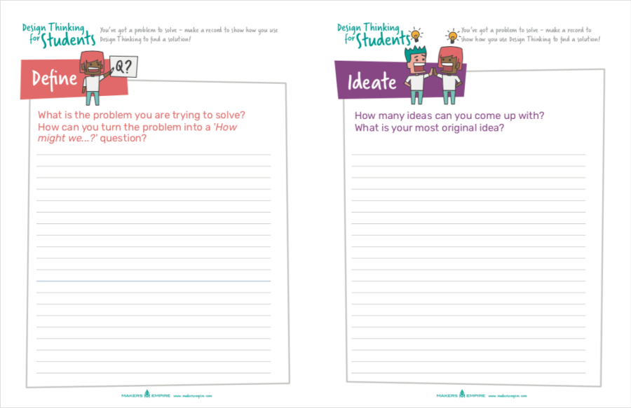 Posters, Worksheets & Lesson Plans | Makers Empire | Design ...