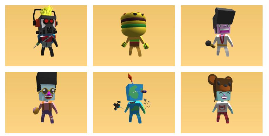 Top Ten 3D Design Lesson Ideas Using Custom Avatar Parts in