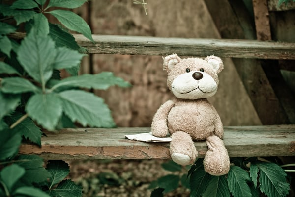 light brown stuffed bear toy