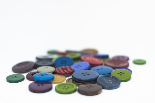 an assortment of buttons