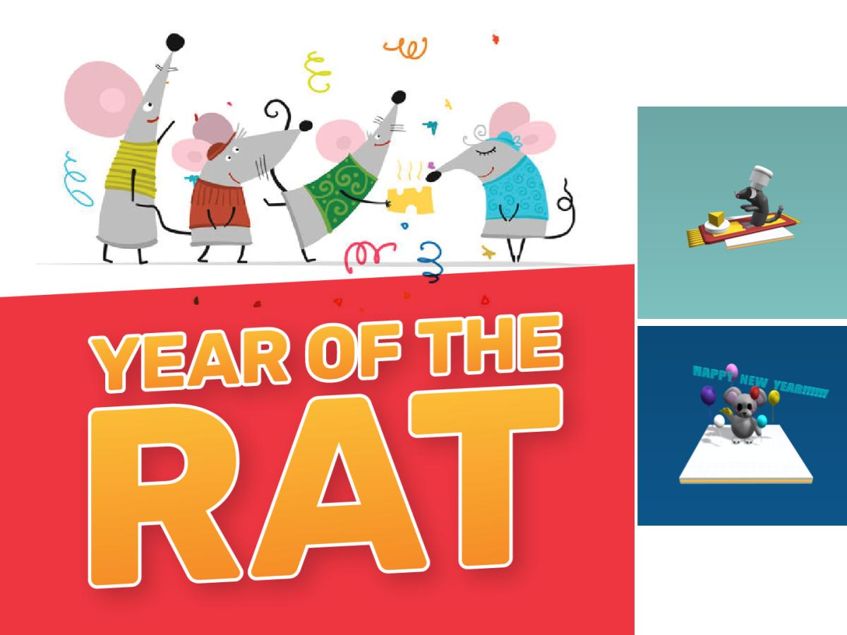 Winners of the Year of the Rat Design Thinking Competition