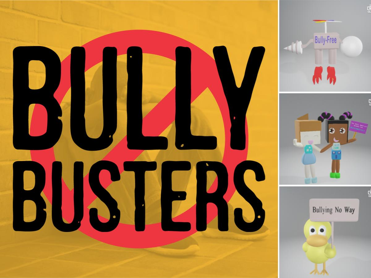 Winners of the Bully Busters 3D Design Competition | Design Thinking Challenge