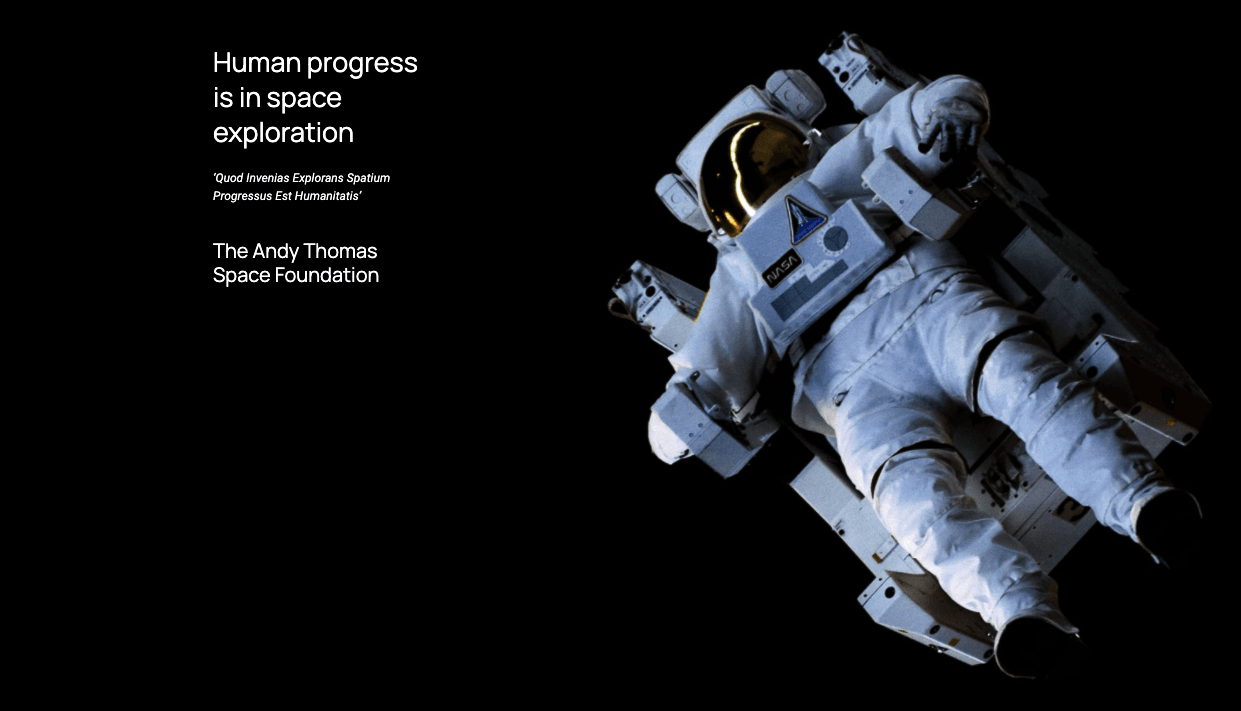 Makers Empire Partnering with Andy Thomas Space Foundation