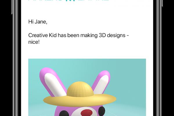 Creative Kids_Activity Report-iphone