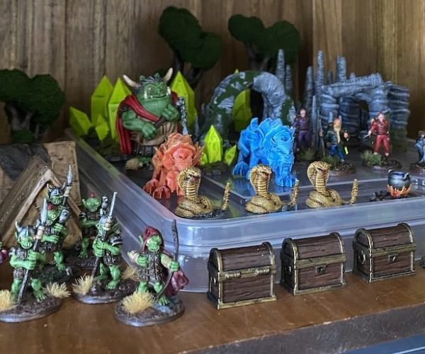 3d printed models for dungeons dragons game