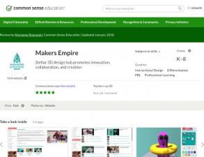 Common Sense Education Makers Empire