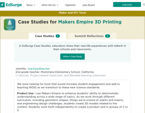 Ed Surge Makers Empire