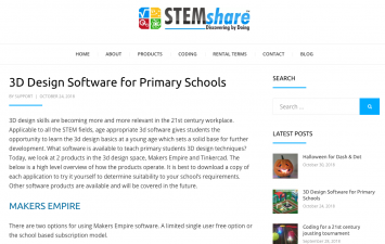 StemShare TinkerCad Makers Empire