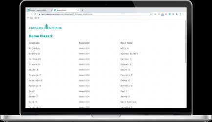 Username&Password List
